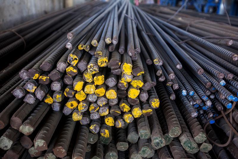 普通鋼鋼材在庫量、8月4.1%増 鉄連