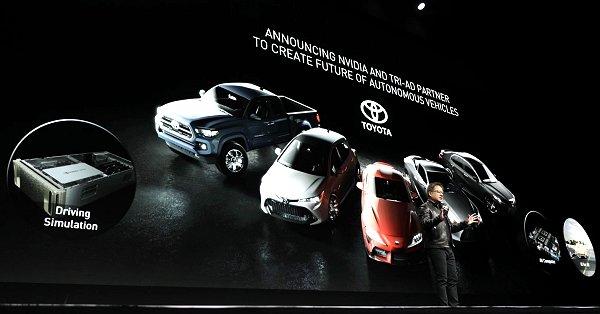 【電子版】米エヌビディア、トヨタと自動運転で協業拡大 クラウドベースの新テストシステム提供